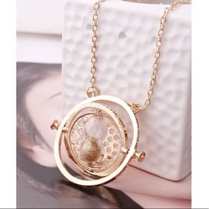 Jewelry - Harry Potter Time Turner Sand Glass Necklace